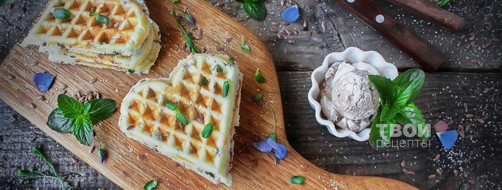 Хрустящие вафли - Рецепт