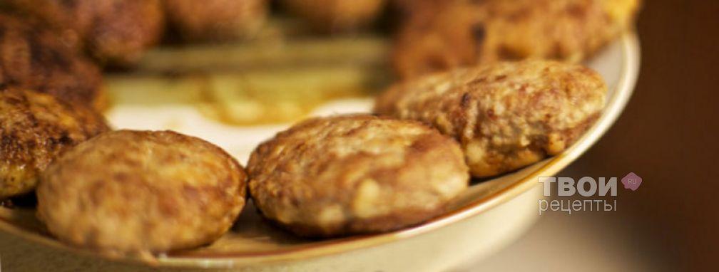 Котлеты из говядины с грибами - Рецепт