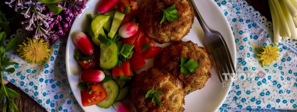 Котлеты из минтая в духовке - Рецепт
