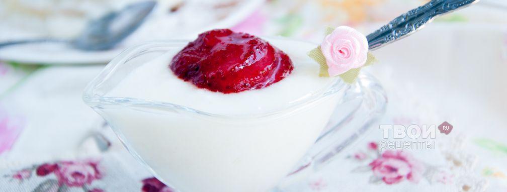 Крем йогуртовый - Рецепт