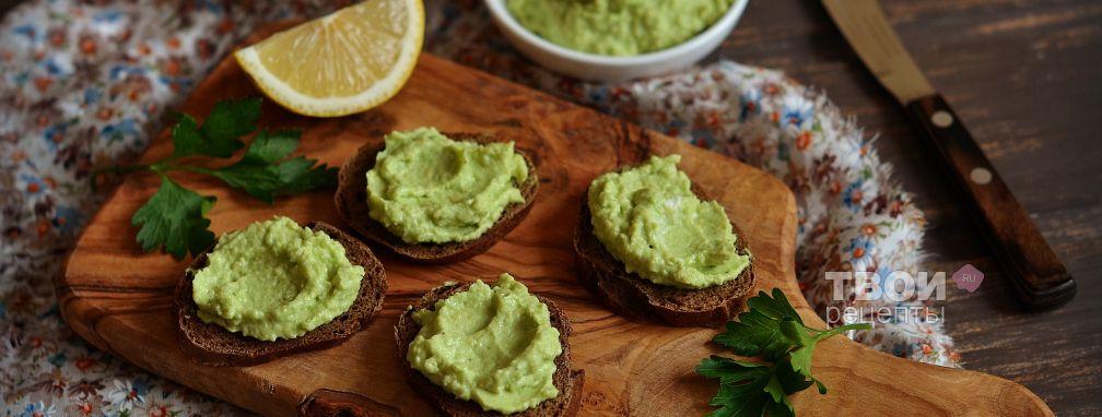 Крем из авокадо - Рецепт