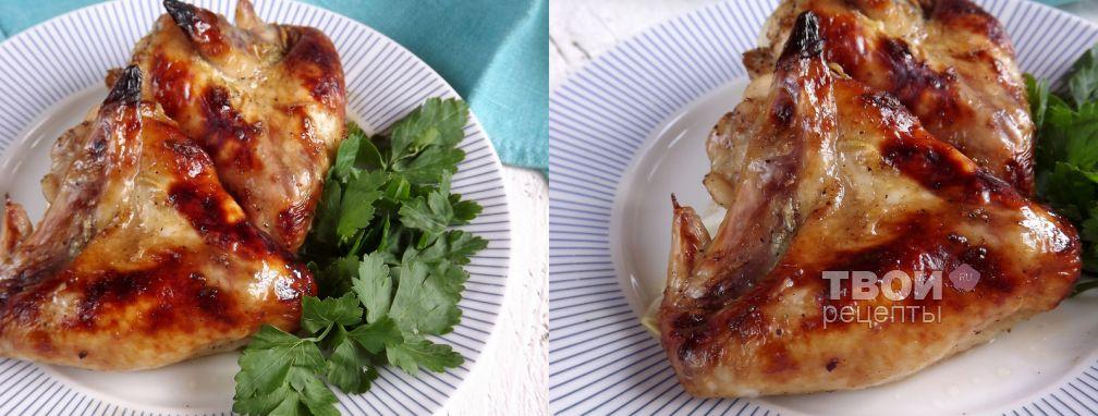 Крылышки в медово-соевом соусе - Рецепт