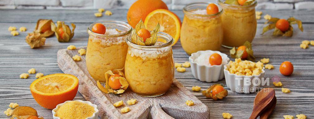 Кукурузный десерт - Рецепт