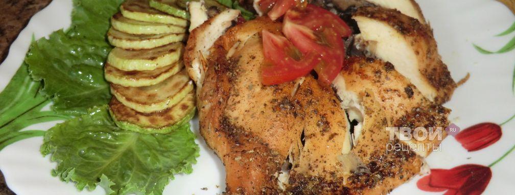 Куриное филе, фаршированное грибами - Рецепт