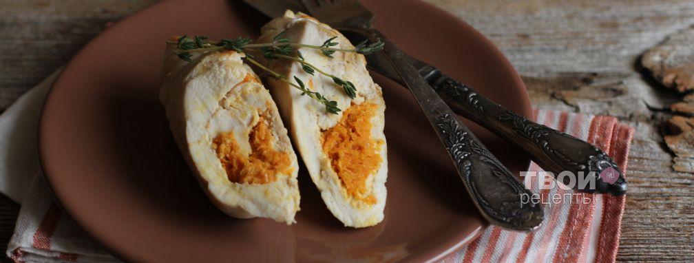Куриное филе с морковью - Рецепт