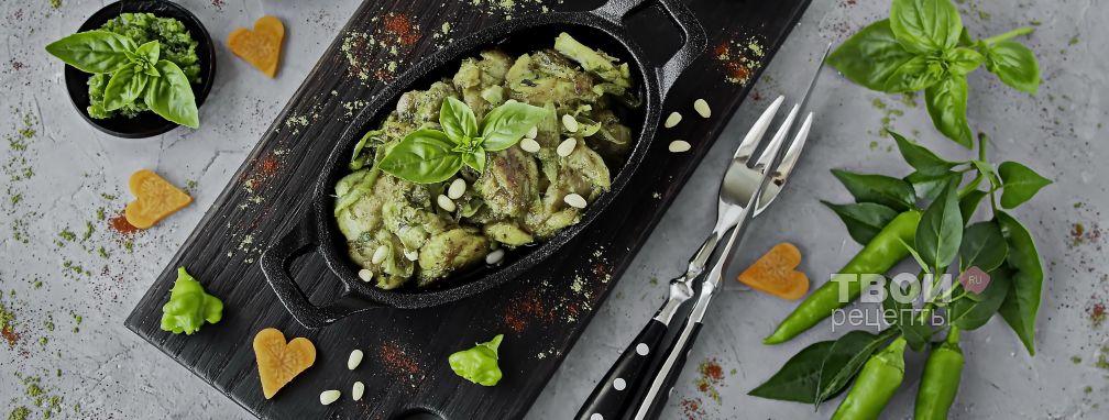 Куриные бедра на сковороде - Рецепт