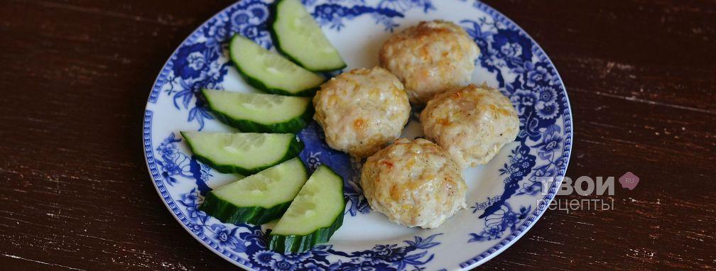 Куриные фрикадельки с сыром - Рецепт