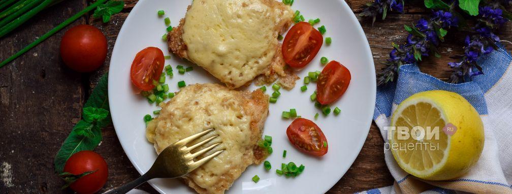 Куриные отбивные с сыром - Рецепт