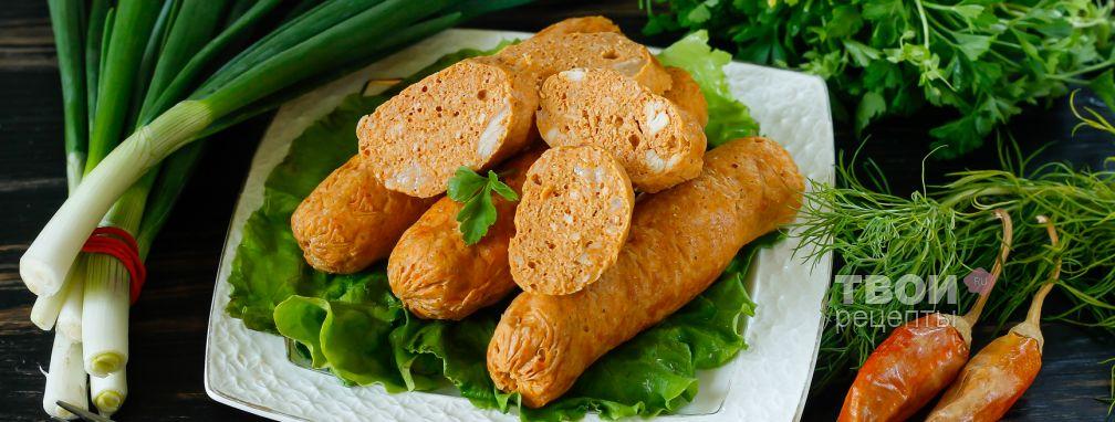 Куриные сосиски - Рецепт