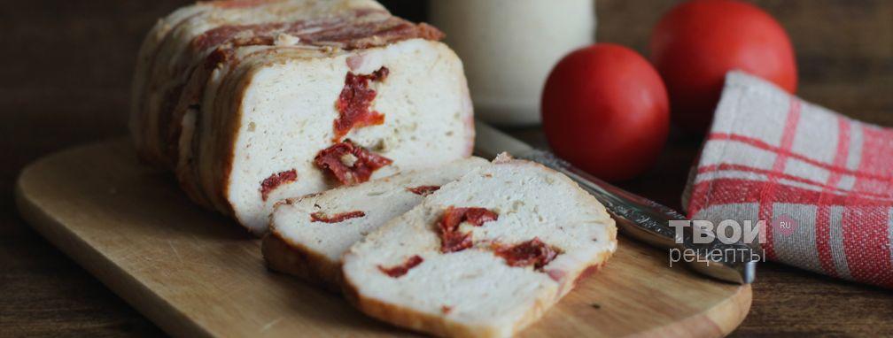 Куриный террин с вялеными томатами - Рецепт