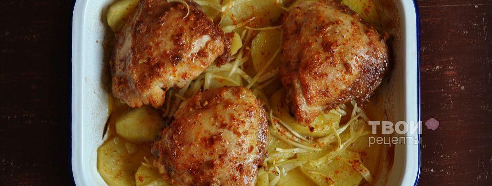 Курица с имбирем - Рецепт