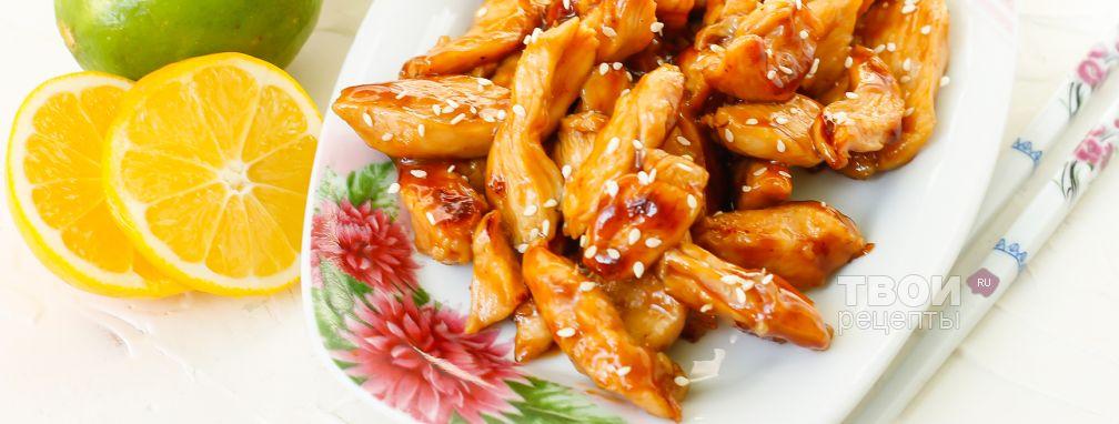 Курица Терияки - Рецепт