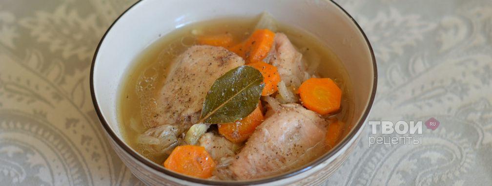 Курица в банке - Рецепт