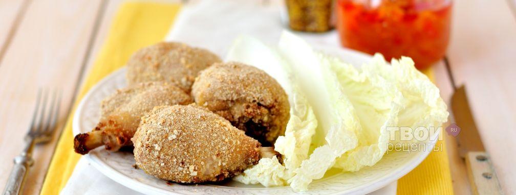 Курица в горчичной панировке - Рецепт