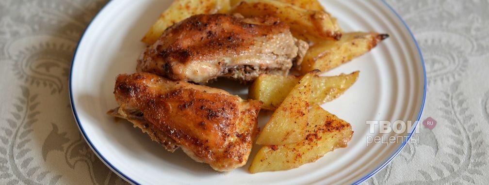 Курица в горчичном соусе - Рецепт