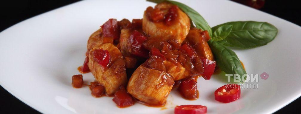 Курица в кисло-сладком соусе - Рецепт