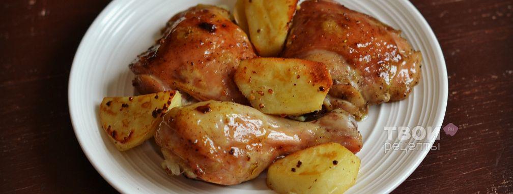 Курица в рукаве - Рецепт