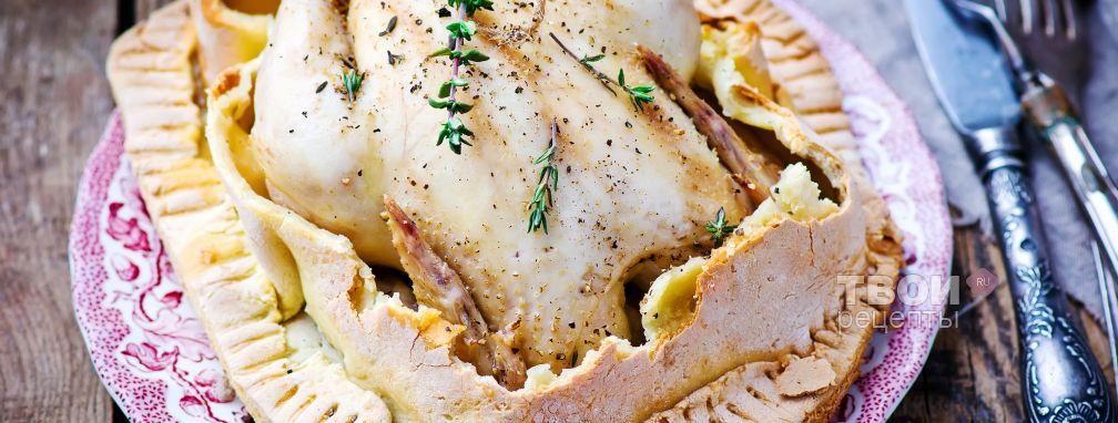 Курица в тесте рецепт с фото