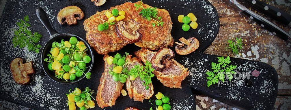 Лангет из говядины - Рецепт