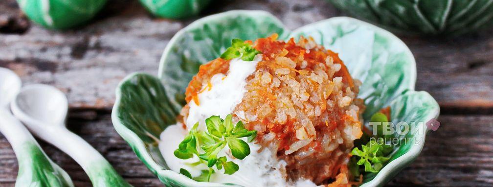 Ленивые голубцы с рисом - Рецепт