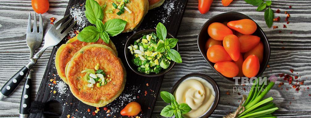 Ленивые пирожки с яйцом и с луком - Рецепт