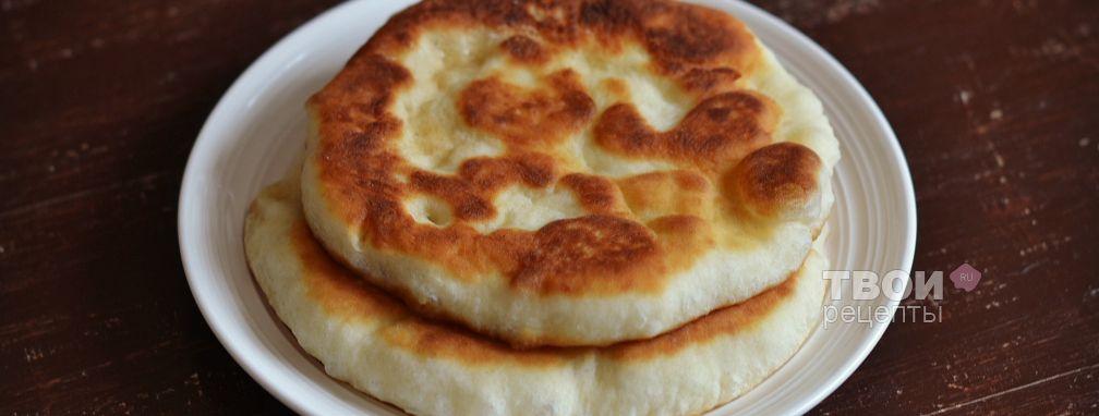 Лепешки на кефире - Рецепт