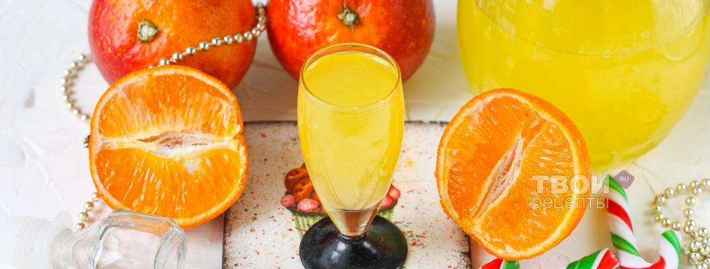 Ликер апельсиновый  - Рецепт