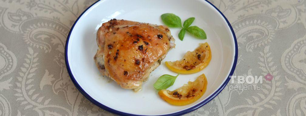Лимонная курица с тимьяном - Рецепт