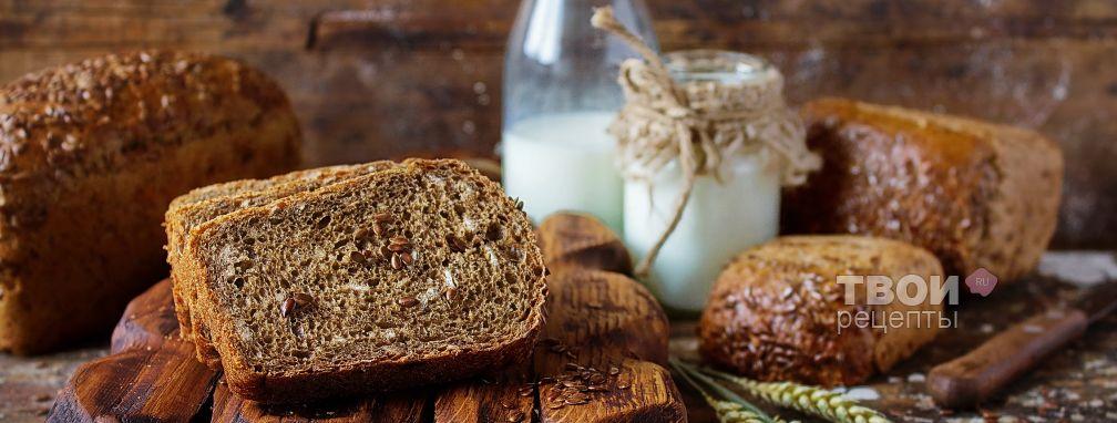 Льняной хлеб - Рецепт