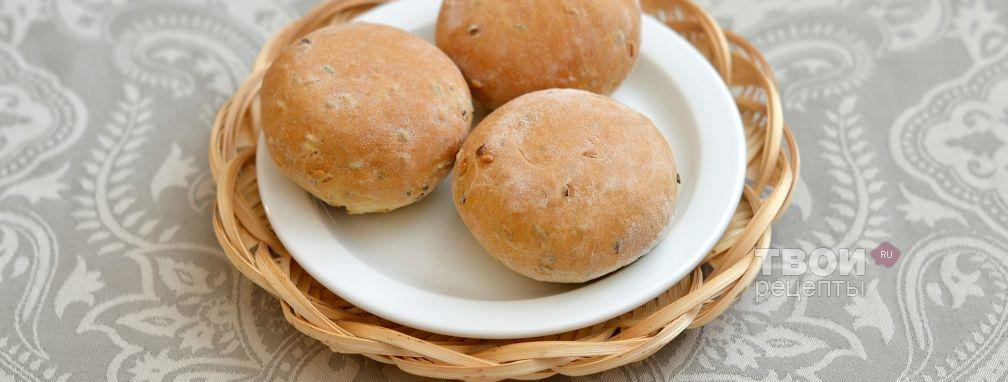 Льняные булочки - Рецепт