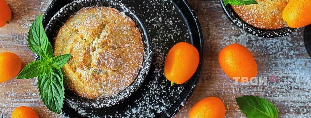 Маффины апельсиновые - Рецепт