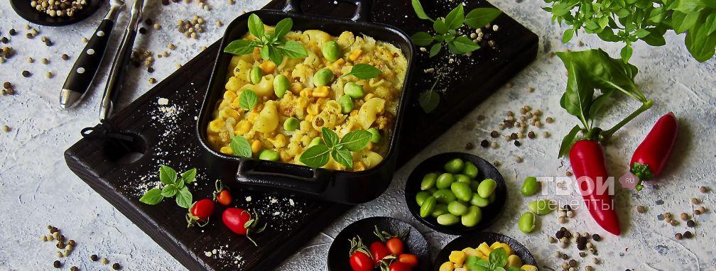 Макаронная запеканка в духовке - Рецепт