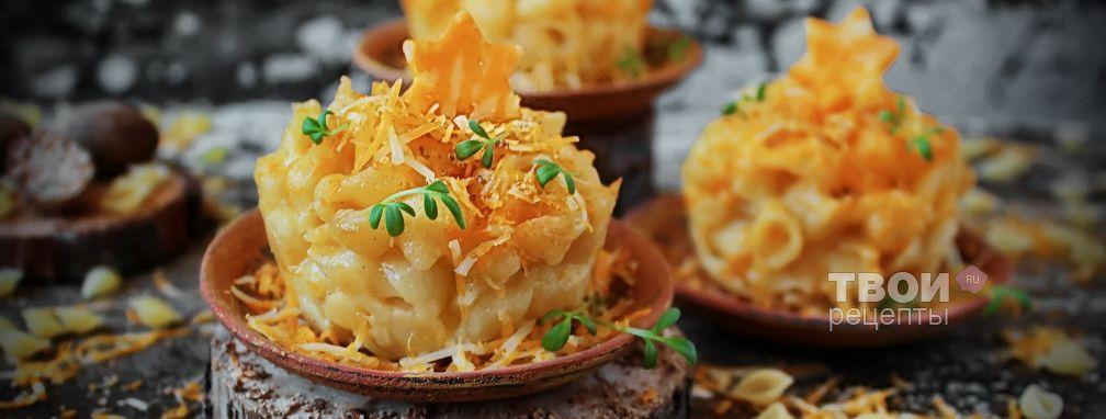 Макароны в сырном соусе - Рецепт