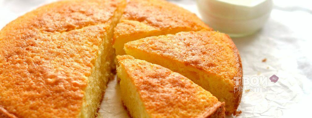 Мандариновый пирог - Рецепт