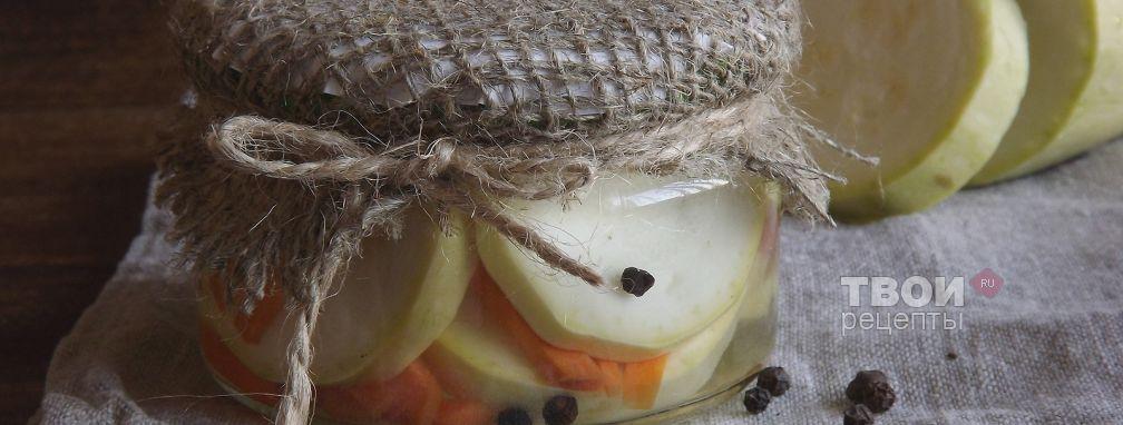 Кабачки на зиму - Рецепт