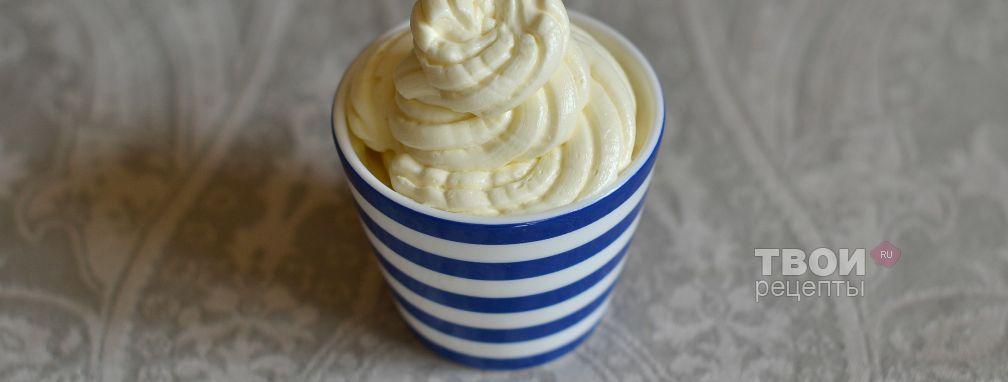 Масляный крем для торта - Рецепт