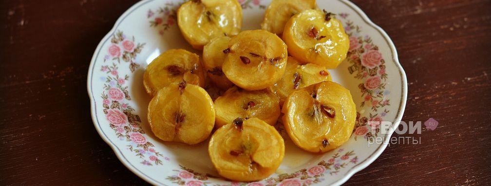 Медовые яблоки - Рецепт