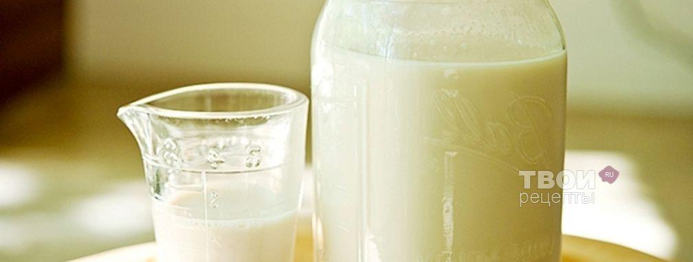 Миндальное молоко - Рецепт