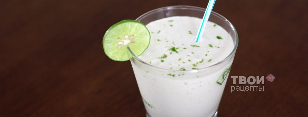 Молочный коктейль на кокосовом молоке - Рецепт