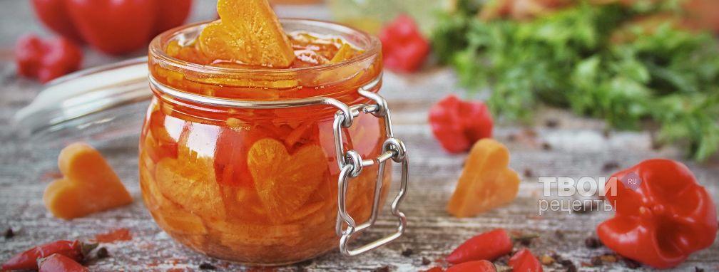 Морковь по-корейски на зиму - Рецепт