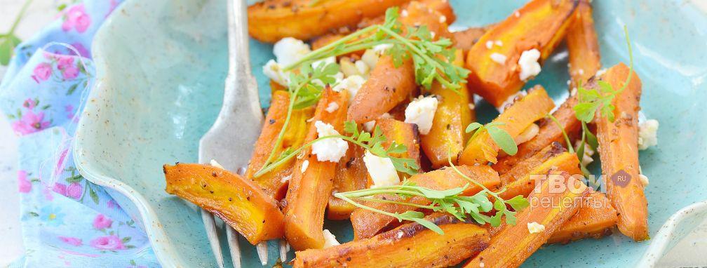 Морковь с сыром - Рецепт
