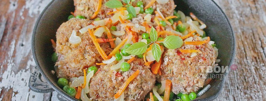 Мясные шарики с овощами - Рецепт