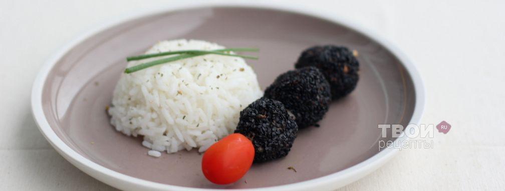 Мясные шарики в кунжуте - Рецепт