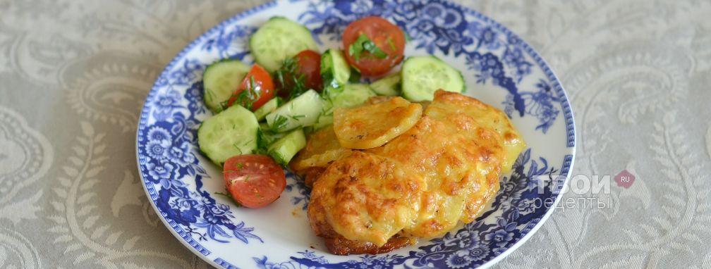 Мясо по-французски с грибами - Рецепт