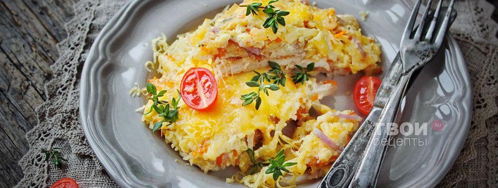 Мясо по-французски с картошкой - Рецепт
