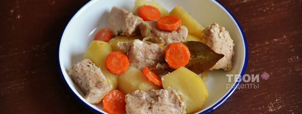 Мясо с картошкой в рукаве - Рецепт