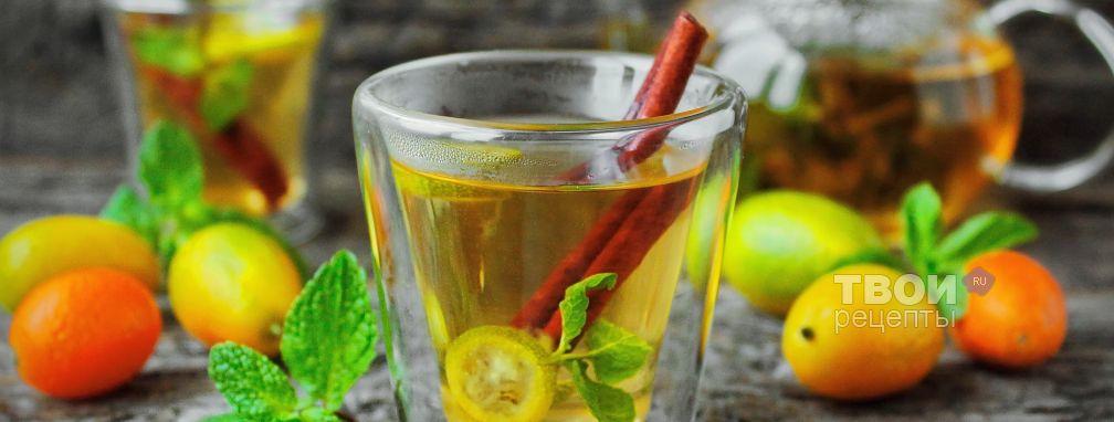 Мятный чай - Рецепт