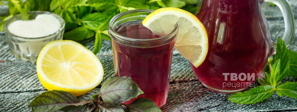 Напиток из базилика - Рецепт
