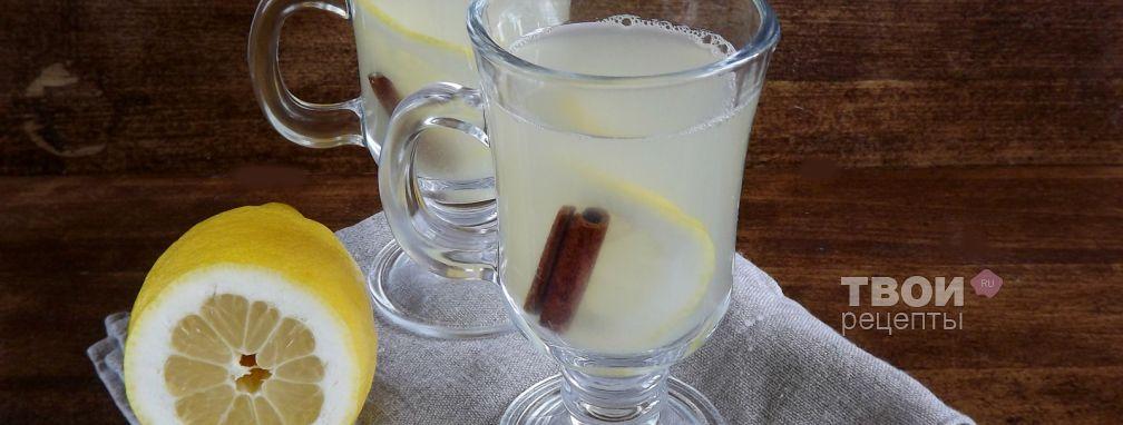 Напиток из ревеня - Рецепт