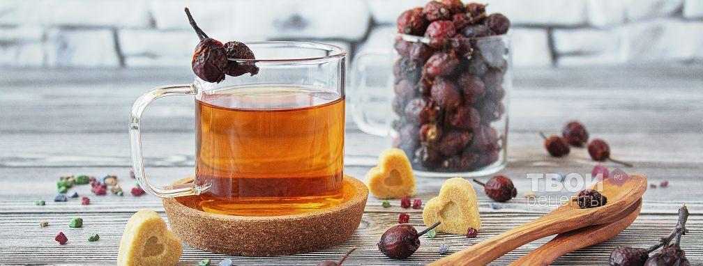 Напиток из шиповника - Рецепт
